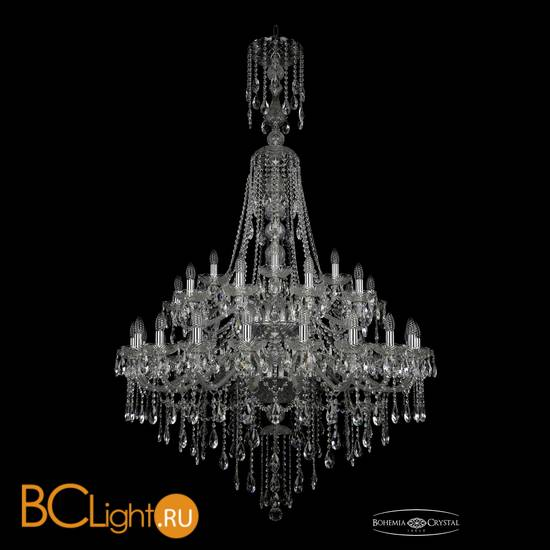 Люстра Bohemia Ivele Crystal 1415/20+10+5/400/XL-185/2d/Ni