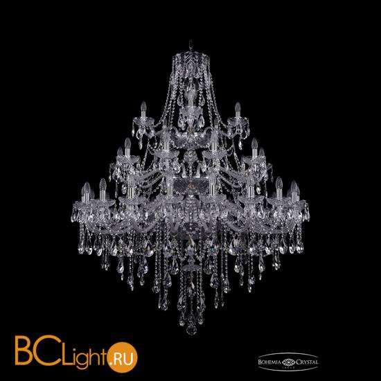 Люстра Bohemia Ivele Crystal 1415/20+10+5/460/3d/Ni