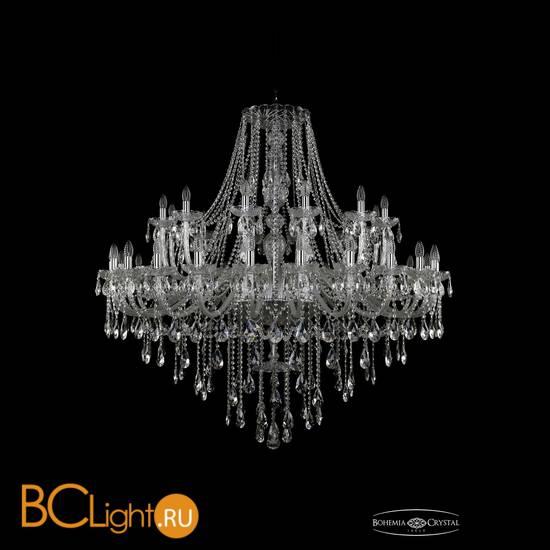 Люстра Bohemia Ivele Crystal 1415/24+12/530/Ni