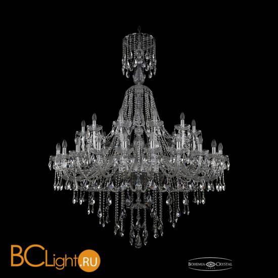 Люстра Bohemia Ivele Crystal 1415/24+12/530/XL-186/Ni