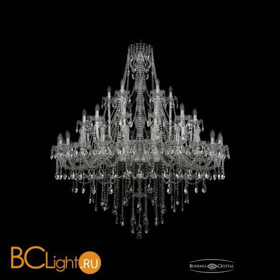 Люстра Bohemia Ivele Crystal 1415/24+12+6/530/Ni