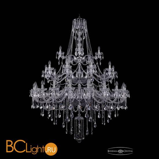 Люстра Bohemia Ivele Crystal 1415/20+10+5/530/3d/Ni