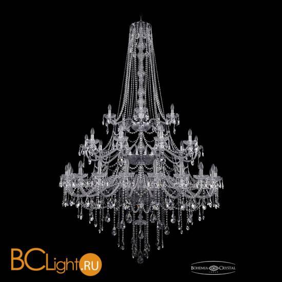Люстра Bohemia Ivele Crystal 1415/20+10+5/530/h-231/3d/Ni