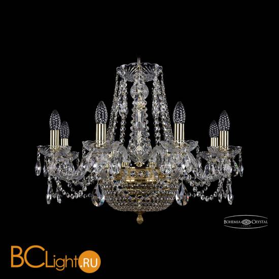 Люстра Bohemia Ivele Crystal 1450/8/160/250/G