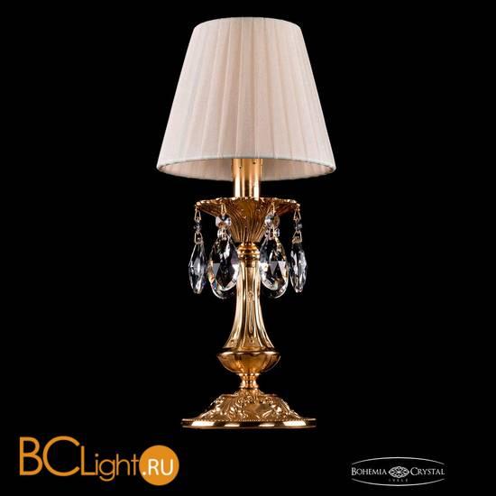 Настольная лампа Bohemia Ivele Crystal 1702L/1-30/G/SH3-160