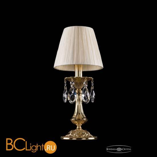 Настольная лампа Bohemia Ivele Crystal 1702L/1-30/G/SH33-160