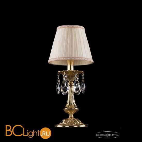 Настольная лампа Bohemia Ivele Crystal 1702L/1-30/G/SH33A-160