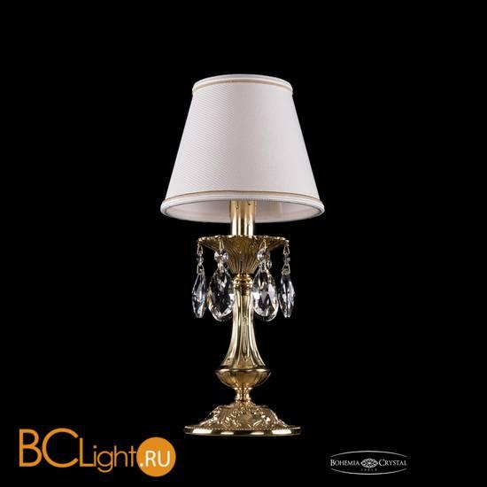 Настольная лампа Bohemia Ivele Crystal 1702L/1-30/G/SH40A-160