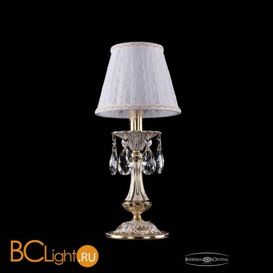 Настольная лампа Bohemia Ivele Crystal 1702L/1-30/GW/SH13A-160