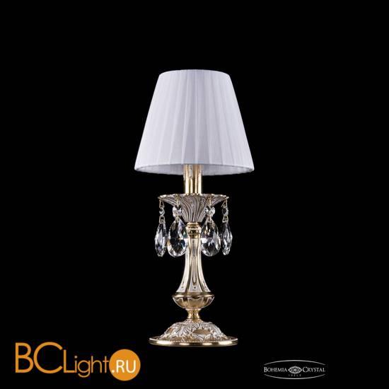 Настольная лампа Bohemia Ivele Crystal 1702L/1-30/GW/SH2-160