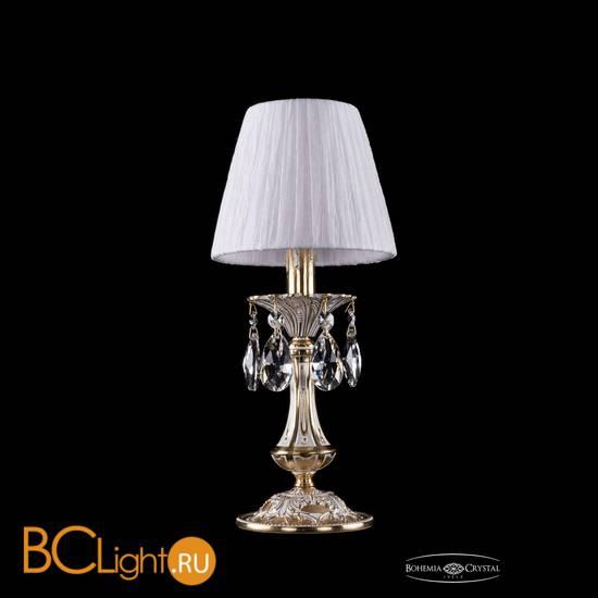 Настольная лампа Bohemia Ivele Crystal 1702L/1-30/GW/SH32-160