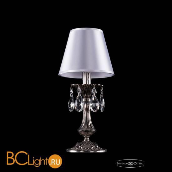 Настольная лампа Bohemia Ivele Crystal 1702L/1-30/NB/SH21-160