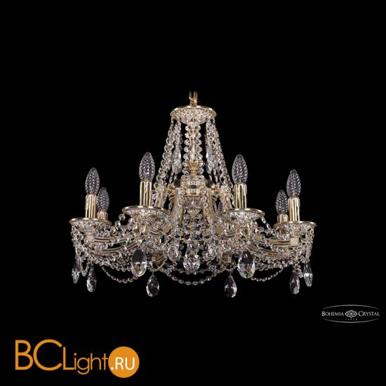 Люстра Bohemia Ivele Crystal 1771/8/190/C/GW
