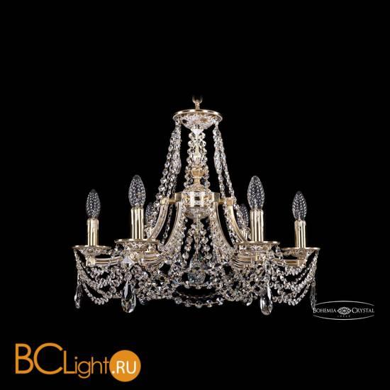 Люстра Bohemia Ivele Crystal 1771/6/190/C/GW