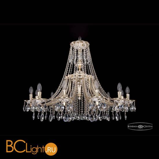 Люстра Bohemia Ivele Crystal 1771/12/340/A/GW