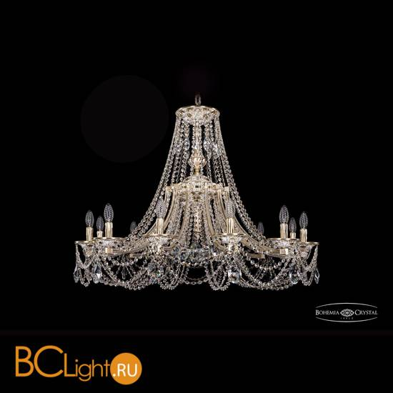 Люстра Bohemia Ivele Crystal 1771/12/340/C/GW
