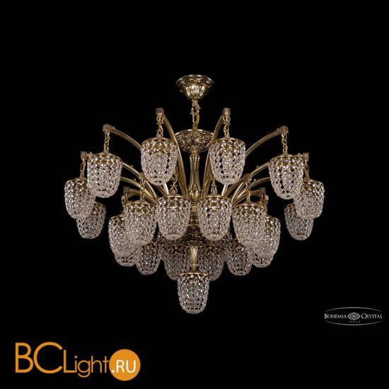 Люстра Bohemia Ivele Crystal 1772/24+1/342/GB
