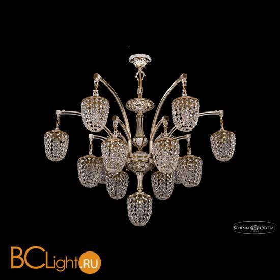 Люстра Bohemia Ivele Crystal 1772/12+1/342/GW