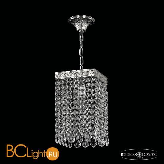 Подвесной светильник Bohemia Ivele Crystal 19202/15IV Ni Leafs
