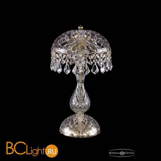 Настольная лампа Bohemia Ivele Crystal 5011/22-42/G/Leafs