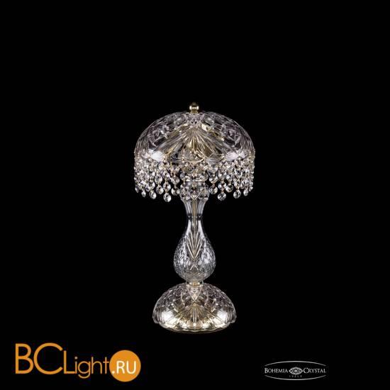 Настольная лампа Bohemia Ivele Crystal 5011/22-42/G/R