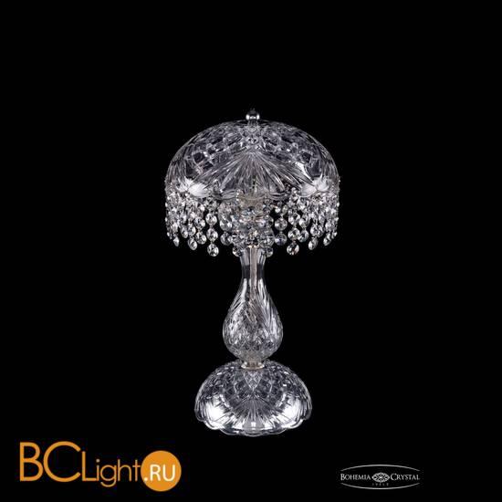 Настольная лампа Bohemia Ivele Crystal 5011/22-42/Ni/R