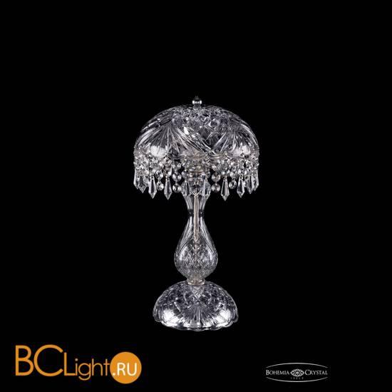 Настольная лампа Bohemia Ivele Crystal 5011/22-42/Ni/Drops