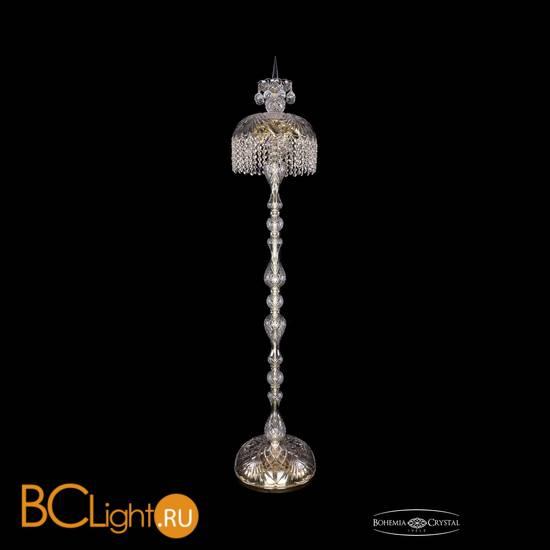 Торшер Bohemia Ivele Crystal 5877/30-150/G/R