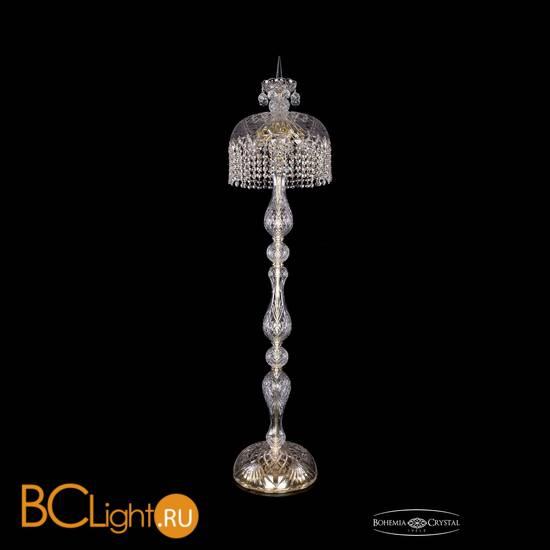 Торшер Bohemia Ivele Crystal 5877/35-150/G/R