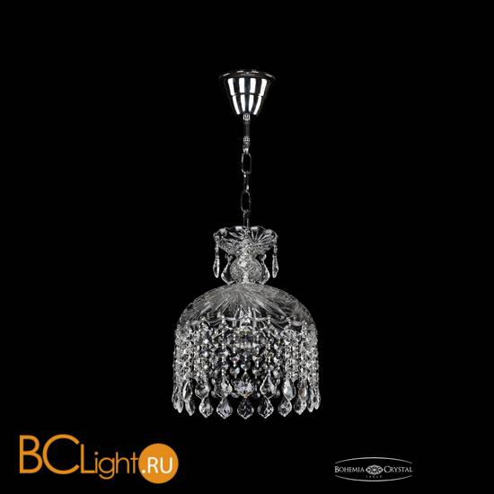 Подвесной светильник Bohemia Ivele Crystal 7715/22/1/Ni/Leafs