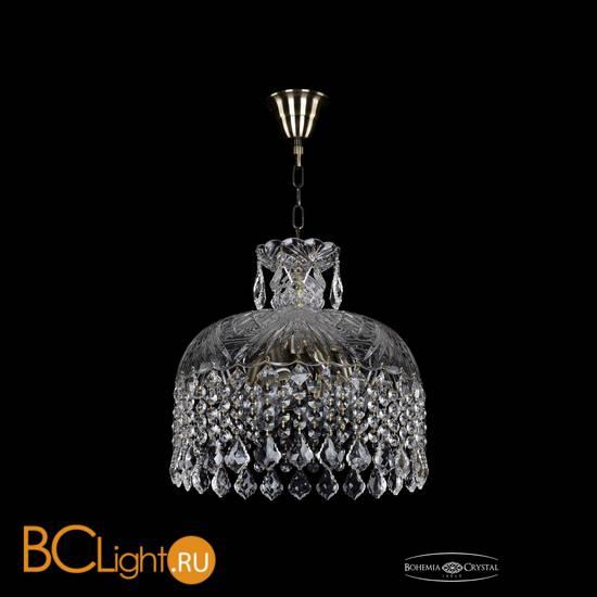 Подвесной светильник Bohemia Ivele Crystal 7715/35/Pa/Leafs