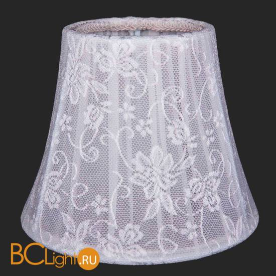 Абажур Bohemia Ivele Crystal SH41-160 цветочное белое кружево