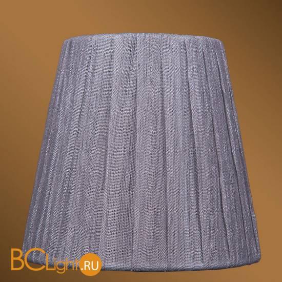 Абажур Bohemia Ivele Crystal SH6-160 серебряный индийский шелк