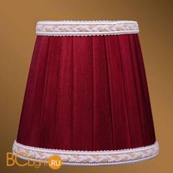 Абажур Bohemia Ivele Crystal SH8A светлый бордо с бело-золотой каймой