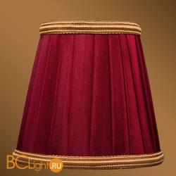 Абажур Bohemia Ivele Crystal SH8B светлый бордо с золотой каймой