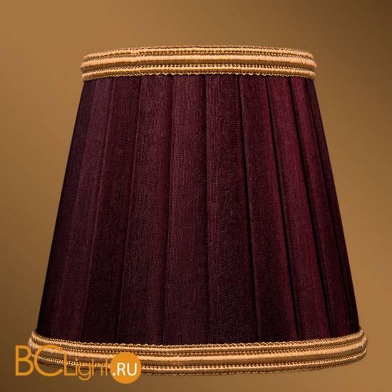Абажур Bohemia Ivele Crystal SH9B темный бордо с золотой каймой