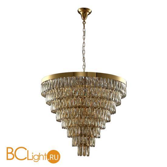 Подвесной светильник Crystal lux ABIGAIL SP22 D820 GOLD/AMBER