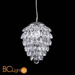 Подвесной светильник Crystal Lux CHARME SP1 + 1 LED CROMO/CRYSTAL