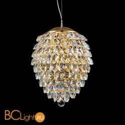 Подвесной светильник Crystal lux Charme SP3+3 LED GOLD/TRANSPARENT