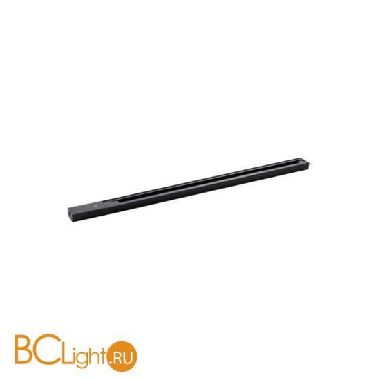 Шинопровод накладной однофазный Crystal lux CLT 0.11 CLT 0.11 01 L1000 BL 1м черный
