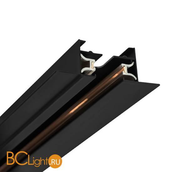 Шинопровод встраиваемый однофазный Crystal lux CLT 0.121 CLT 0.121 01 L1000 BL 1м черный