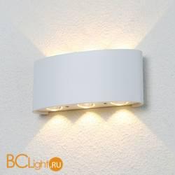 Уличный настенный светильник Crystal lux CLT 023W3 WH