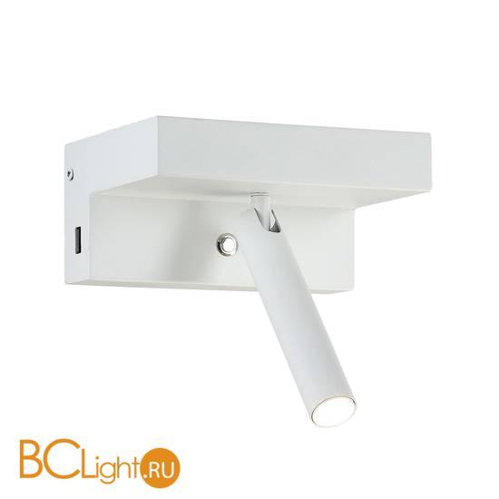Настенный светильник Crystal lux CLT 228W USB WH