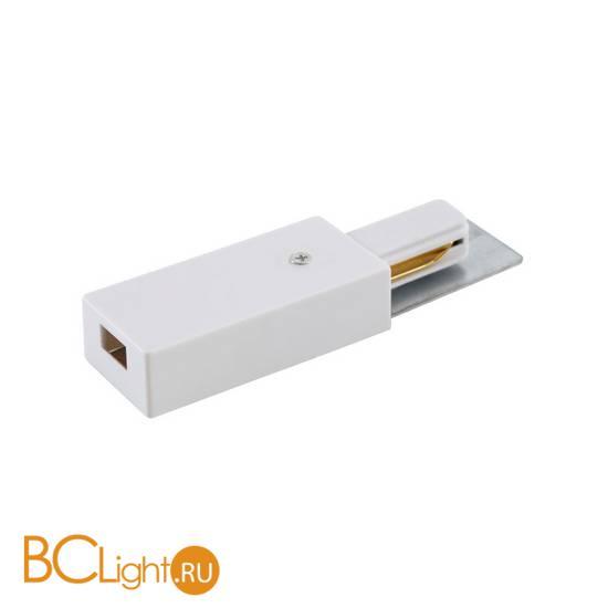 Токоподвод для однофазного шинопровода Crystal lux CLT 0.210 01 WH