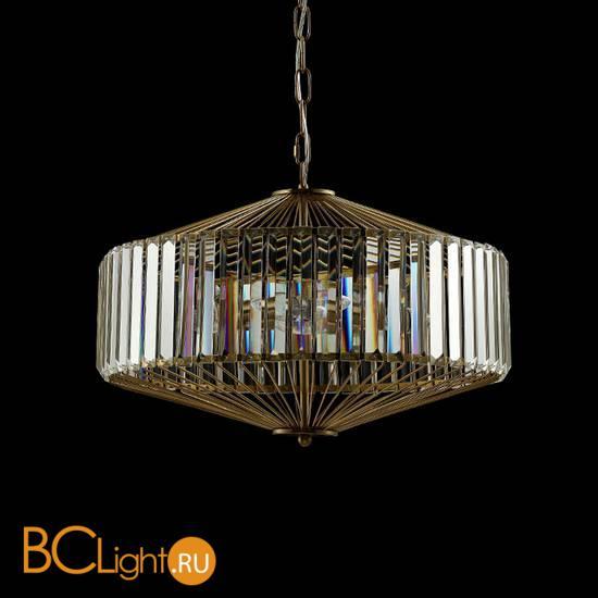 Подвесной светильник Crystal lux FIESTA SP5 BRASS/TRANSPARENTE