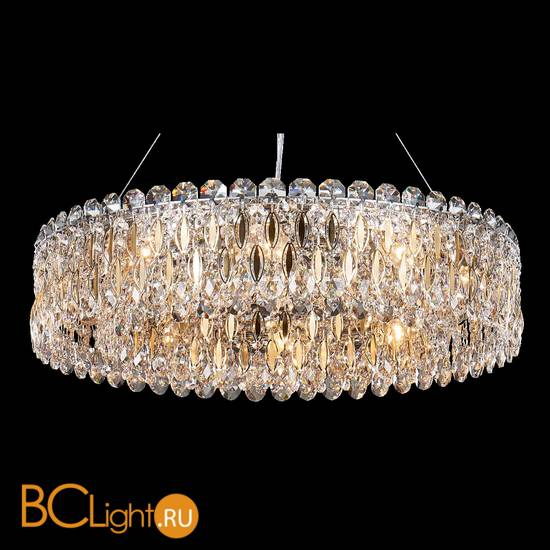Подвесной светильник Crystal lux Lirica LIRICA SP10 D610 CHROME/GOLD-TRANSPARENT