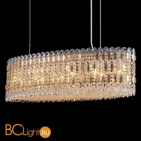 Подвесной светильник Crystal lux Lirica LIRICA SP10 L900 CHROME/GOLD-TRANSPARENT