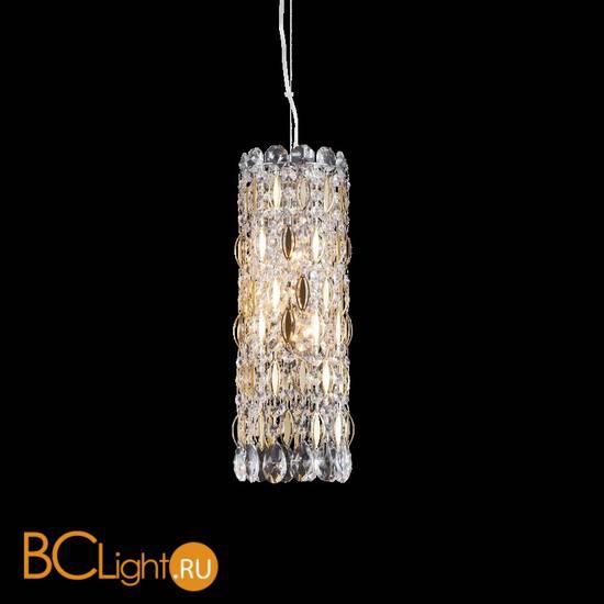 Подвесной светильник Crystal lux Lirica LIRICA SP3 CHROME/GOLD-TRANSPARENT