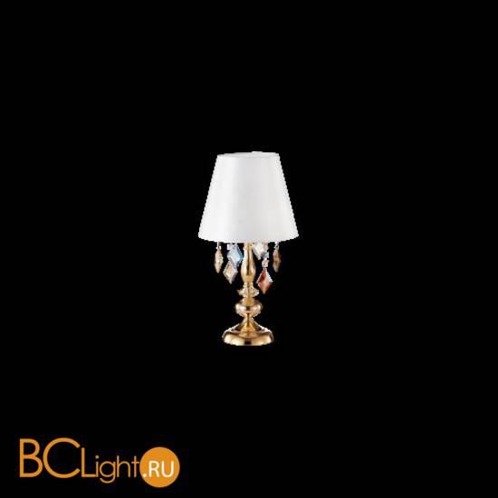 Настольная лампа Crystal lux Mercedes MERCEDES LG1 GOLD/COLOR