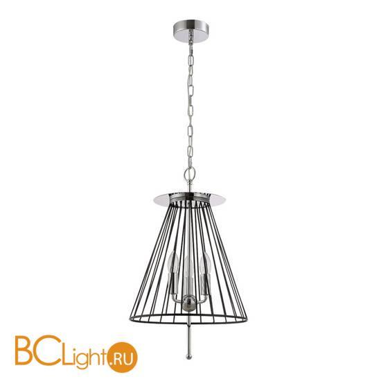 Подвесной светильник Crystal lux MODESTO SP3 BLACK/CHROME